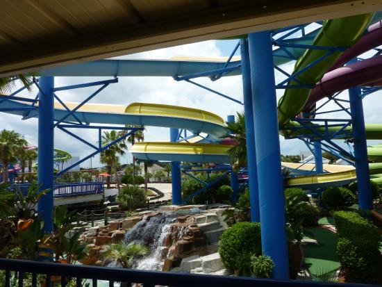 Daytona Lagoon: los toboganes