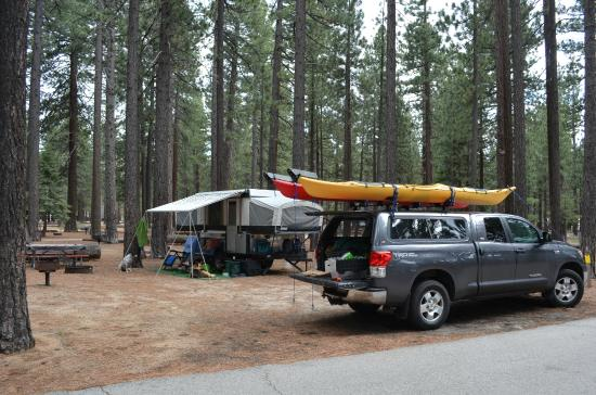 Campground by the Lake: Lots of Room
