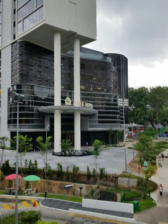 Entrance/ Ikea is next door - Picture of Park Hotel