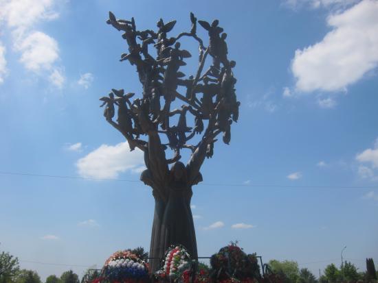 Beslan, Ρωσία: Кладбище