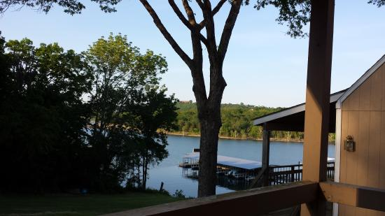 Lakeside Resort Restaurant & General Store : View from cabin