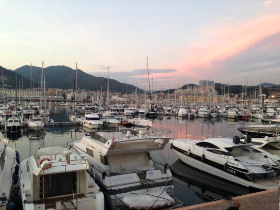 MarinaPlace Resort: Marina au coucher du soleil