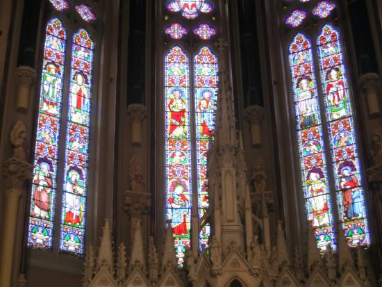 St. Peter and Paul's Church : Stained glass windows