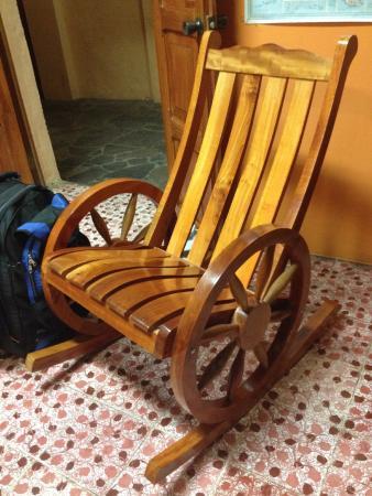 Hotel Posada Alta Vista Comfortable rocking chair in Reception & Comfortable rocking chair in Reception - Picture of Hotel Posada ...