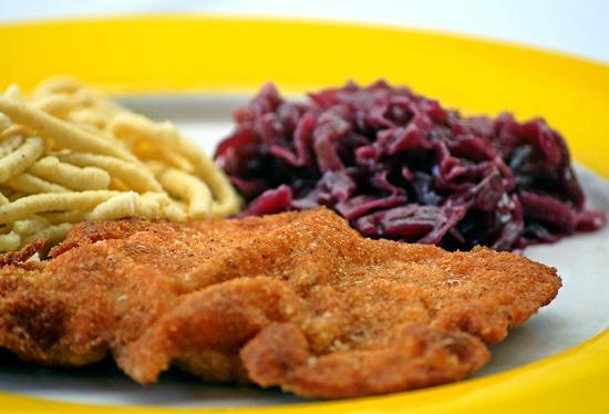Black Forest Restaurant : Schnitzel Baden-Baden
