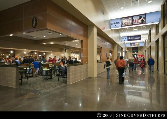 Silverstein Eye Centers Arena: Concourse
