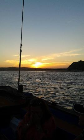 Trigana Boat Trips : Beautiful sunset