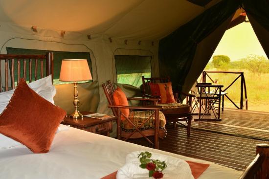 Kwafubesi Tented Safari Camp: Inside my room