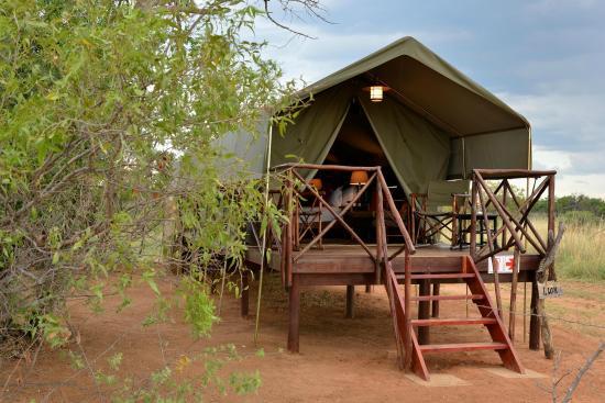Kwafubesi Tented Safari Camp: Bedroom