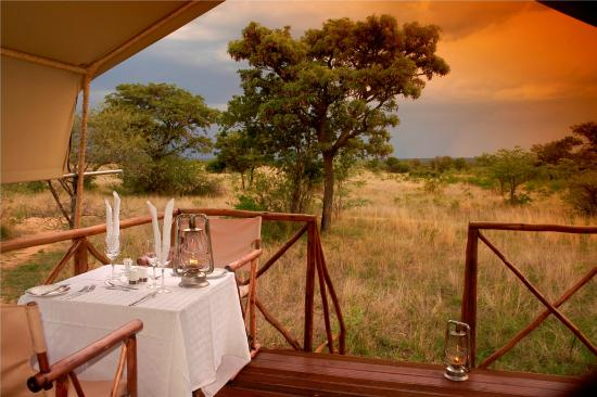 Kwafubesi Tented Safari Camp: View from my room