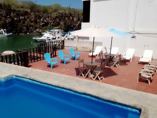 Hotel Castro : Swimming pool View