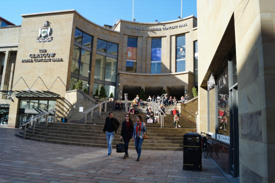 The Glasgow Royal Concert Hall: front view
