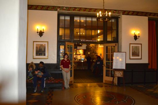 The Majestic Yosemite Dining Room: The Ahwahnee Bar, Across From The Dining  Room.