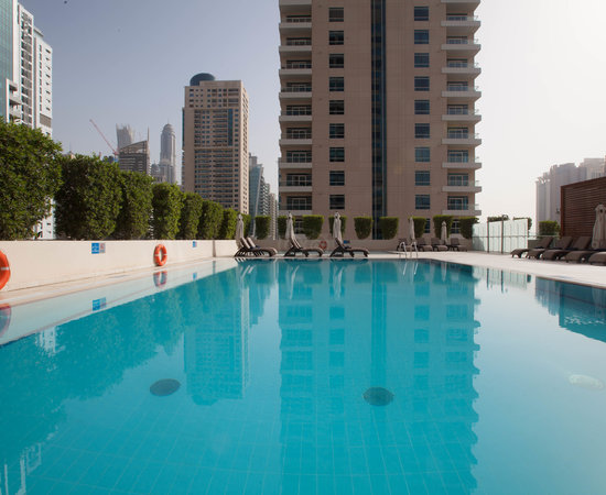 The Pool at the Radisson Blu Residence, Dubai Marina