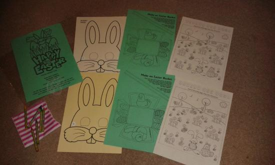 Court Farm Holidays: Easter activity pack supplied by Court Farm