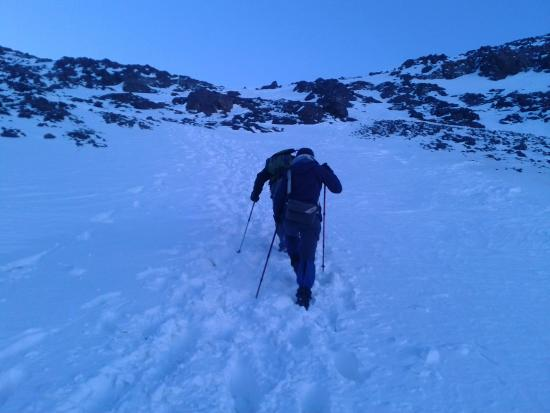 Imlil, Morocco: climbing toubkal in winter