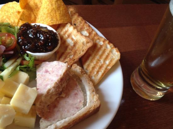 Old Bank Restaurant and Coffee House: Ploughmans Lunch