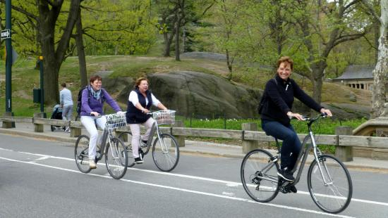 Central Park Bike Tours : at the start
