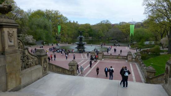 Central Park Bike Tours: Bethseda Fountain