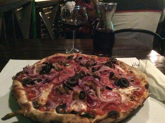 Ciao Pizza: A wonderful rustic pizza