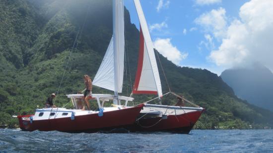 Moorea, Fransız Polinezyası: Taboo on Opunohu's Bay
