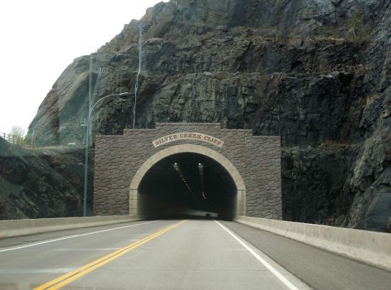 Minnesota's North Shore Scenic Drive: Silver Creek Cliff Tunnel