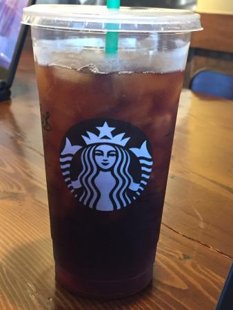 Starbucks: Best iced coffee around