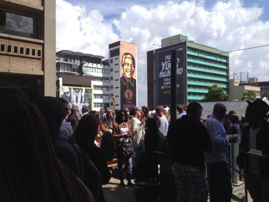 Braamfontein, Sydafrika: Always packed