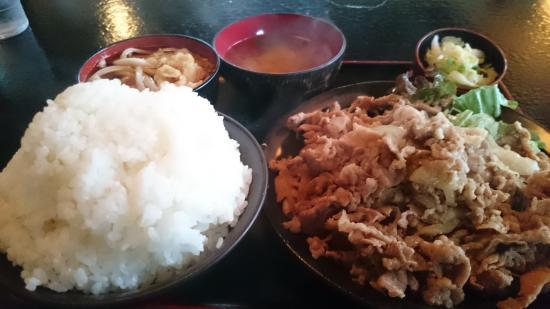 Koto : 焼肉定食(ご飯少な目)