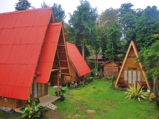 Krui, Indonesia: Penginapan di Tanjung Setia