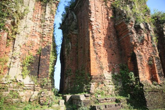 Tam Ky, Vietnam: Chien Dan Cham tower in the end of 11th century, early 12th century