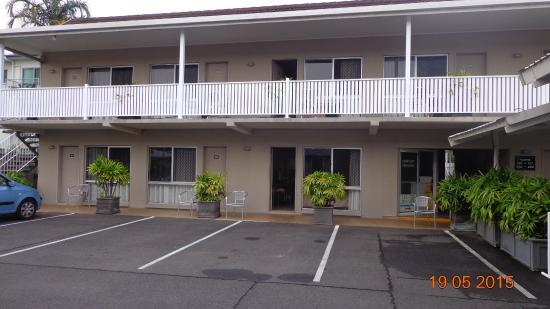 Comfort Inn Cairns City: Our bottom 2 rooms
