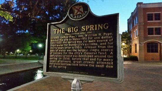 Huntsville, AL: Big Spring Park