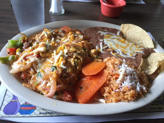 Mario's De La Mesa Restaurant : Chilaquiles, oh yeah!
