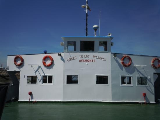 Transporte fluvial del Guadiana