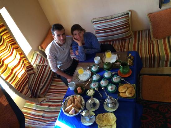 Takojte Hotel : El desayuno