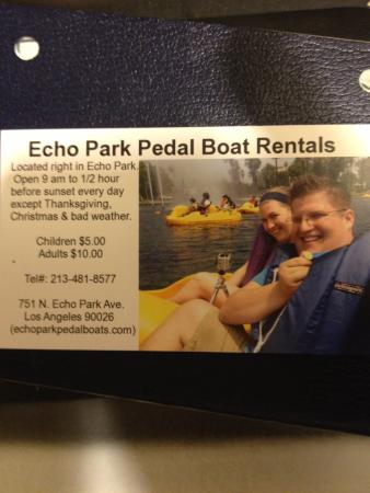 Pedal boat rental - Picture of Echo Park, Los Angeles - TripAdvisor