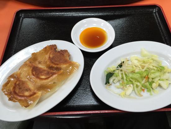Hoanyon: ラーメン餃子セット