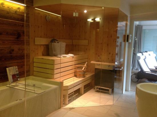 Luxuslodge: Sauna