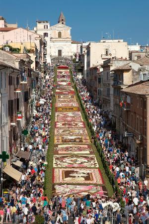 Latium, Italie : Ancora un colpo d'occhio straordinario