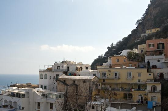 Pensione Maria Luisa - Amalfi Coast : View of Pensione Maria Luisa in the Positano hillside
