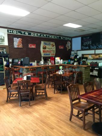 Falls Market Dining Area