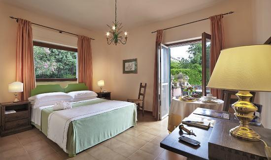 Hotel Villa Sirina: Camera Matrimoniale Superior terrazzo vista mare