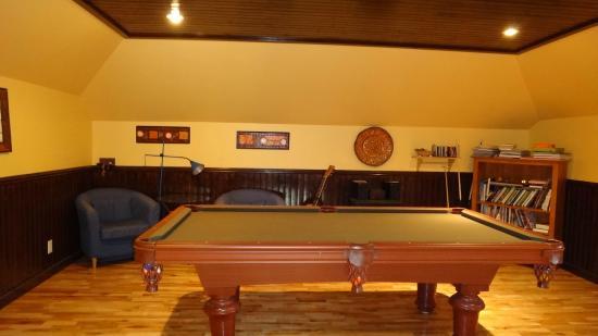 A Tout Venant B&B et Massotherapie: Guests' attic lounge