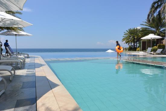 Aerial Photo Acuatico Beach Resort Hotel Laiya Tripadvisor