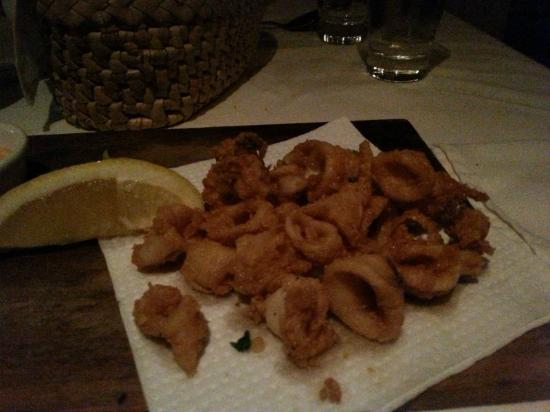 9th Avenue Bistro: calamari