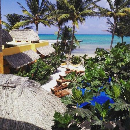 Seaside Cabanas: vue depuis la chambre