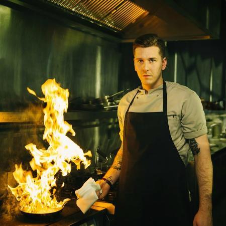 Kolabrautin: Our head chef Georg
