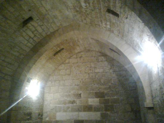 Archaeological Park Castellaccio: Castellaccio di Lentini: sala ipogea