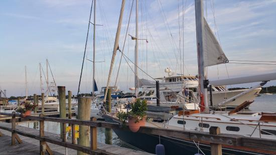 Pecan Tree Inn: Boat week at the Yacht Harbor